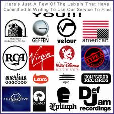 how to get a record labels attention