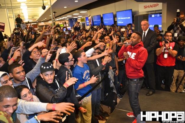 Kendrick Lamar NYC In-Store 10/23/12